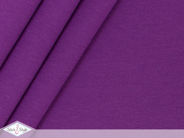 jersey baumwolle uni brombeer stoffe und meterware g nstig online. Black Bedroom Furniture Sets. Home Design Ideas