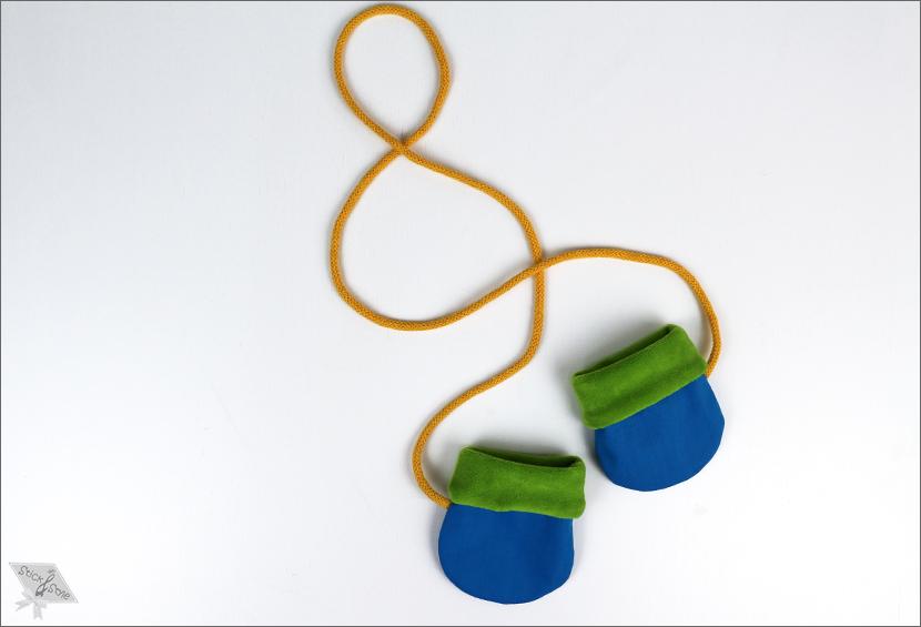 Kostenlose Anleitung Baby Handschuhe   Stick & Style &#9829 ...
