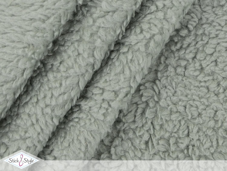 teddy pl sch pistazie baumwollmischung stoffe und. Black Bedroom Furniture Sets. Home Design Ideas