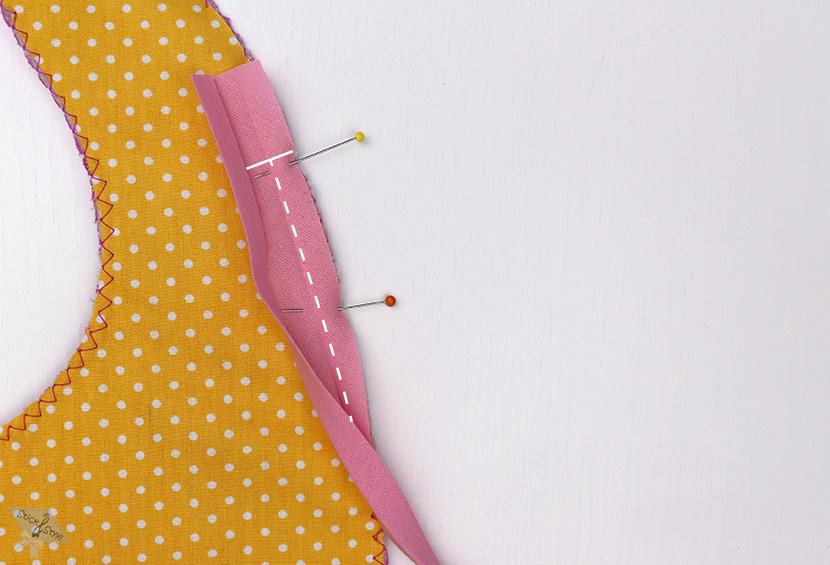 Schrägband Annähen Stick Und Style