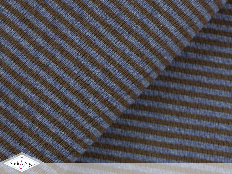 b ndchen streifen graublau braun schlauchware gestreift b ndchen stoffe stoffe und. Black Bedroom Furniture Sets. Home Design Ideas