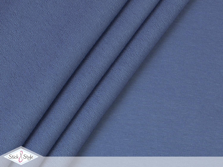 french terry uni graublau stoffe und meterware g nstig online. Black Bedroom Furniture Sets. Home Design Ideas