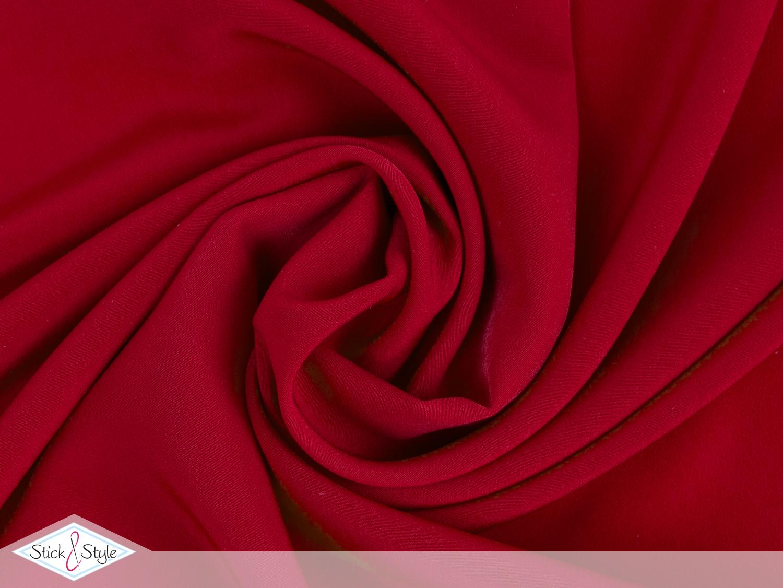 kreppstoff rot stoffe und meterware g nstig online. Black Bedroom Furniture Sets. Home Design Ideas