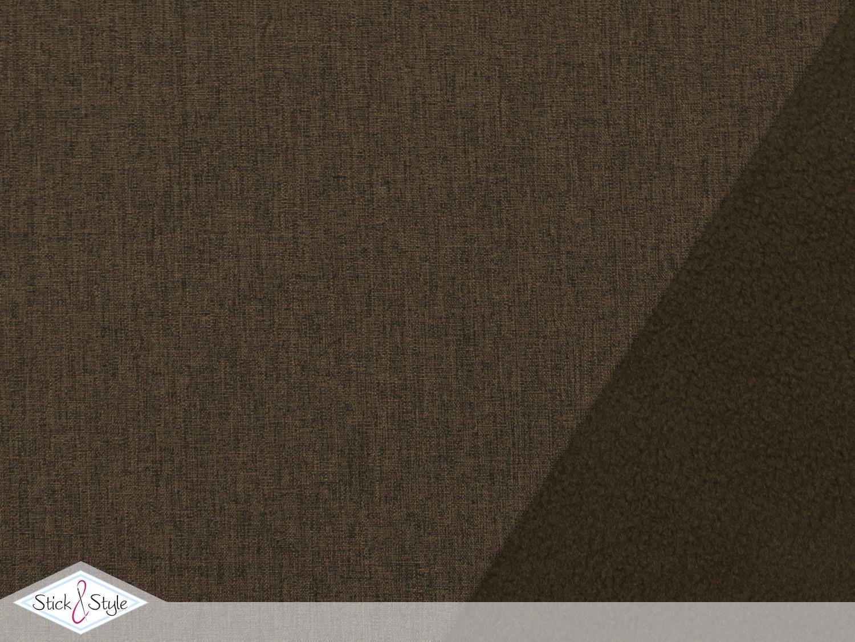 softshell meliert braun stoffe und meterware g nstig online. Black Bedroom Furniture Sets. Home Design Ideas
