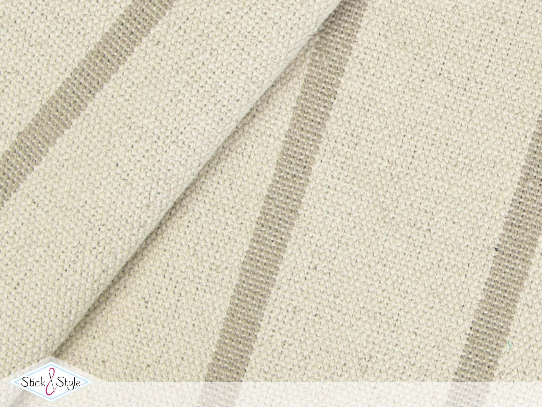 dekostoff stripes beige stoffe und meterware g nstig online. Black Bedroom Furniture Sets. Home Design Ideas