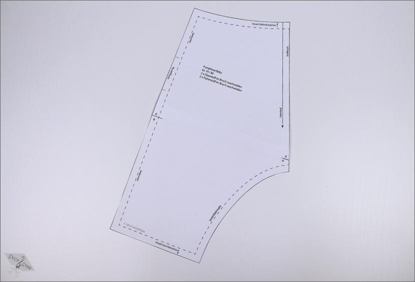 Kostenlose Anleitung Pumphose | Stick & Style ♥ | Stoffe und ...