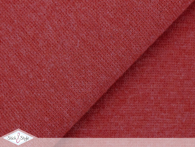 b ndchen uni rot meliert schlauchware stoffe und meterware g nstig online. Black Bedroom Furniture Sets. Home Design Ideas