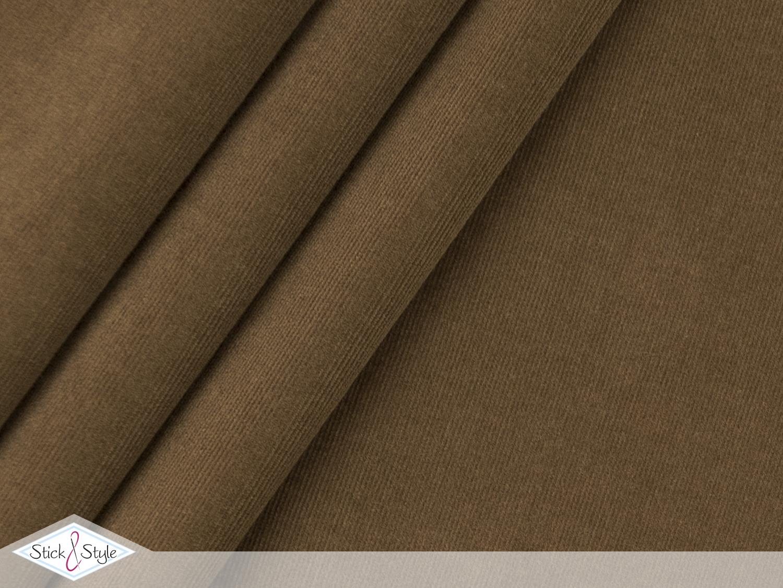 babycord elastisch braun stoffe und meterware g nstig. Black Bedroom Furniture Sets. Home Design Ideas