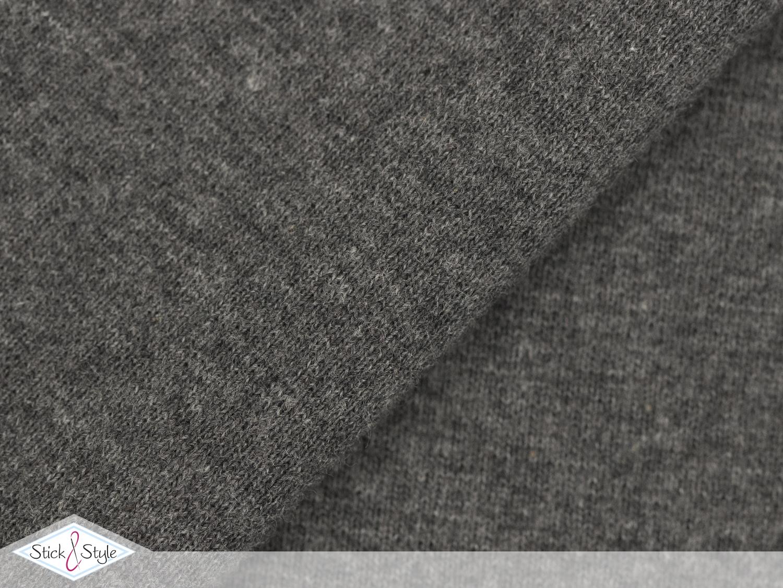 b ndchen uni mittelgrau meliert schlauchware stoffe. Black Bedroom Furniture Sets. Home Design Ideas