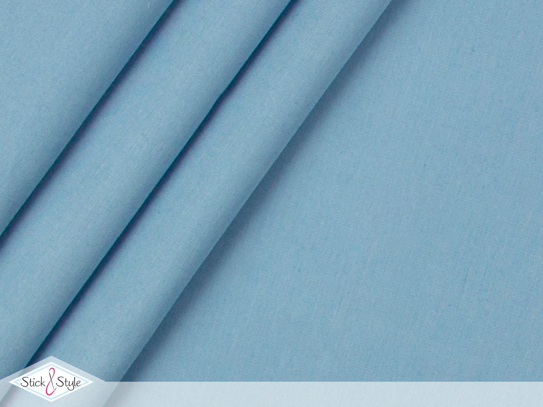 stoff baumwolle sweet basic uni graublau stoffe und meterware g nstig online. Black Bedroom Furniture Sets. Home Design Ideas