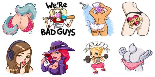 Sexy Telegram Stickers | Sticker Search