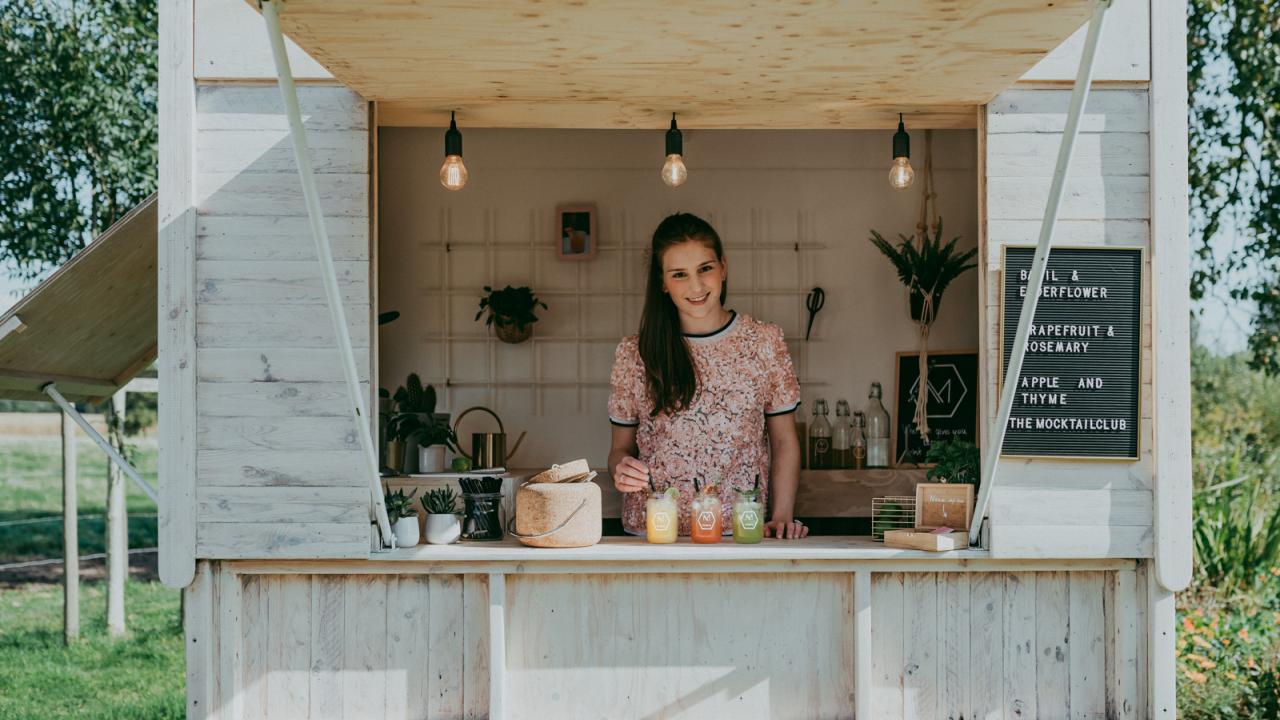 Marie van the Mocktailclub deelt haar keukengeheimen: 'In de groothandel ruik ik aan alle ingrediënten'
