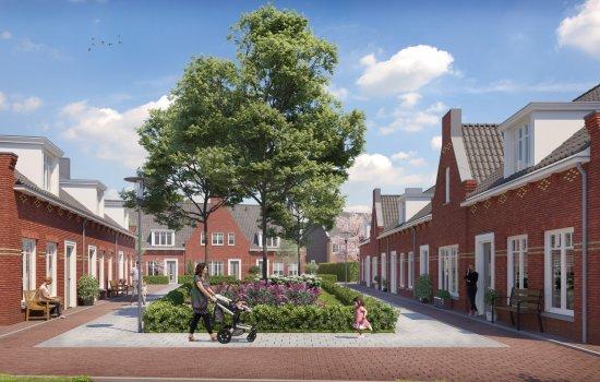 Nieuwbouwproject Hoef en Haag | Het Dorpshart fase 2A te Hoef en Haag