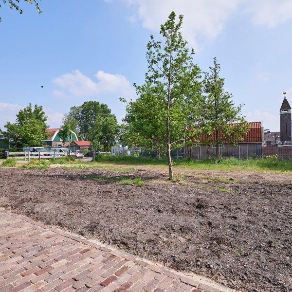 Nieuwbouwproject Zuideinde 79 Westzaan - bouwkavels in Westzaan