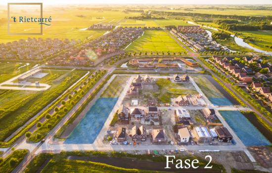 Nieuwbouwproject 't Rietcarré fase 2 te Groningen