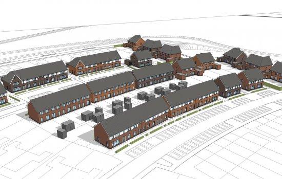 Nieuwbouwproject De Cirkel II te Hardenberg
