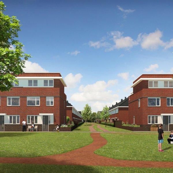 Nieuwbouwproject Antoniuskwartier te Utrecht in UTRECHT