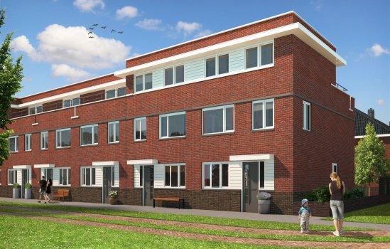 Nieuwbouwproject Antoniuskwartier te Utrecht te UTRECHT