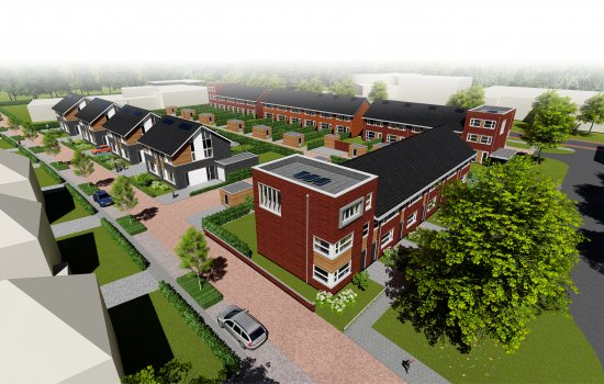 Nieuwbouwproject Kotmanpark te Enschede