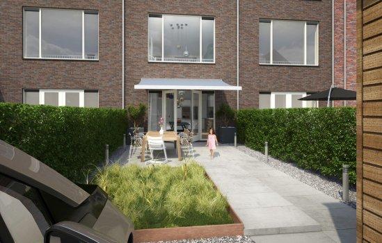 Nieuwbouwproject Op Smaak - 22 Energieneutrale Parkwoningen te Utrecht