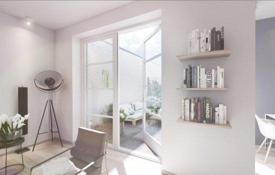 Nieuwbouwproject 8 patiowoningen, De Bleekerij te Enschede