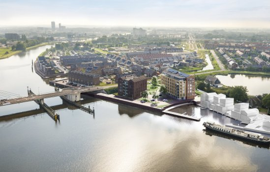 Nieuwbouwproject Frankhuis Fase 8 te Zwolle