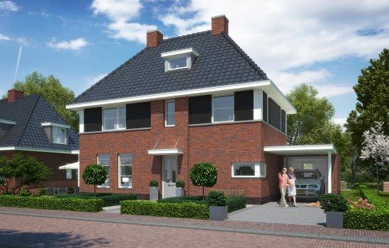 Nieuwbouwproject Graven Es 't Oetslag Oldenzaal te Oldenzaal