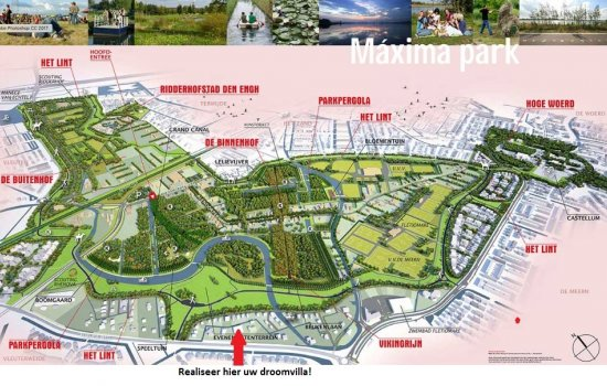 Nieuwbouwproject Wonen aan het Maximapark te Vleuten