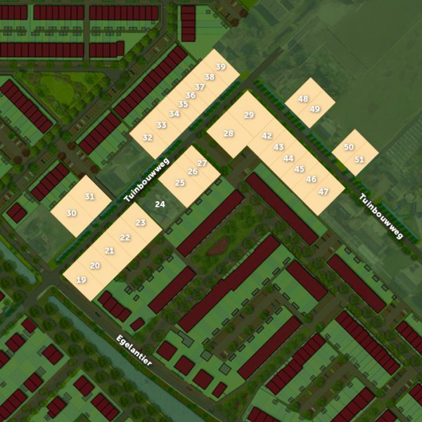 Nieuwbouwproject Kavels Tuinbouwweg in Waddinxveen