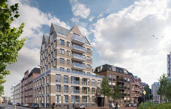 Nieuwbouwproject Zijdebalen (fase IIb) te Utrecht