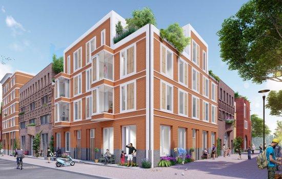 Nieuwbouwproject Sinfonia te Utrecht