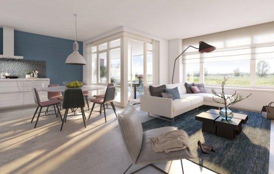 Nieuwbouwproject Rijnvliet Fase 3B te Utrecht
