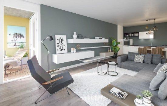 Nieuwbouwproject SCHIKGODINNEN; 18 APPARTEMENTEN LAGE BO2018 THOF, ENSCHEDE te Enschede
