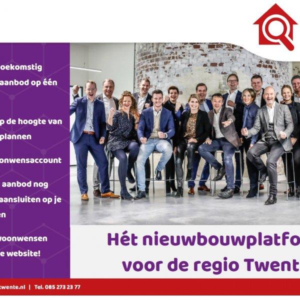 Nieuwbouwproject Lasonderdriehoek in Enschede