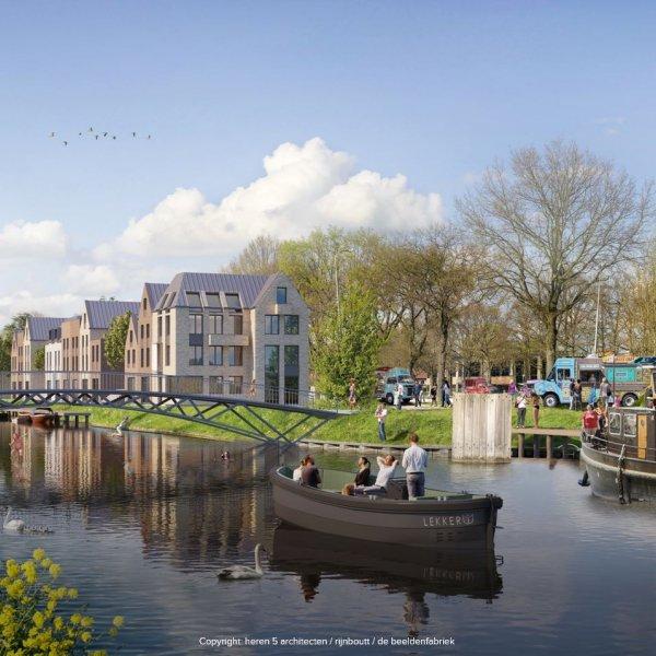 Nieuwbouwproject CPO Sluiseiland te Vianen