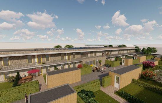 Nieuwbouwproject Sinnesicht te Haulerwijk