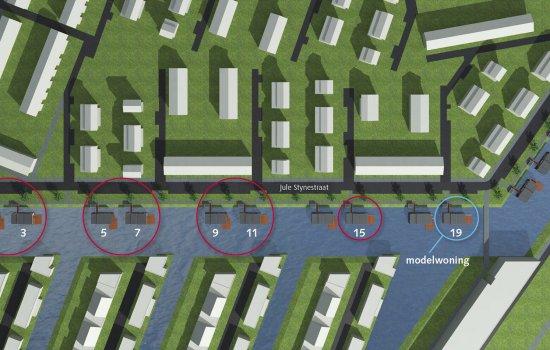 Nieuwbouwproject Jule Stynestraat te Utrecht