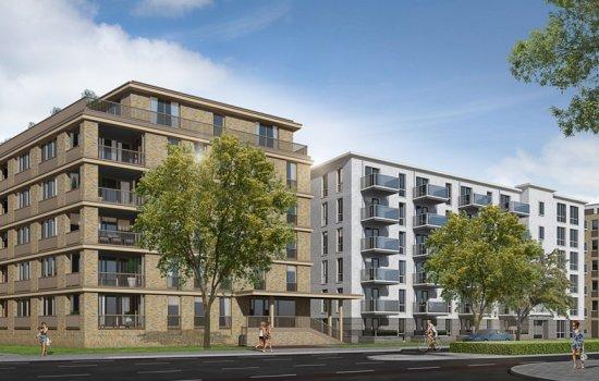 Nieuwbouwproject Weezenlanden, Luttenbergstraat te Zwolle