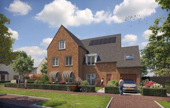 Nieuwbouwproject Parksingel fase 2 te Waddinxveen