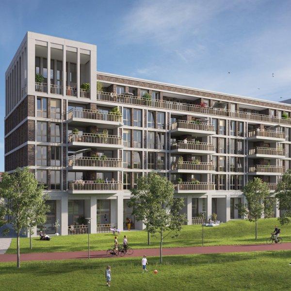 Nieuwbouwproject De Parkwachter in Utrecht
