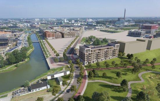 Nieuwbouwproject De Parkwachter te Utrecht