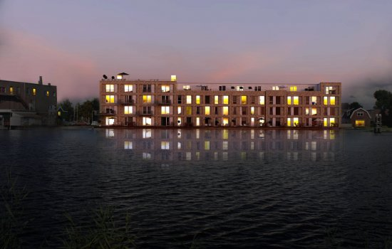 Nieuwbouwproject De Witte Olifant te Zaandam
