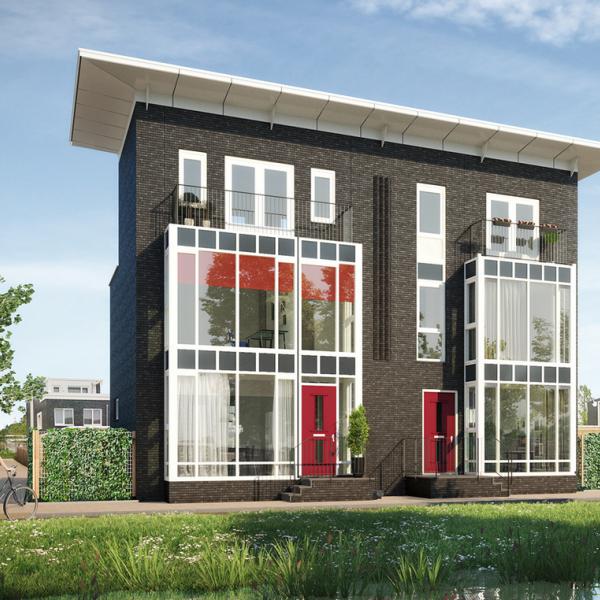 Nieuwbouwproject 2 Singelwoningen  te Groningen