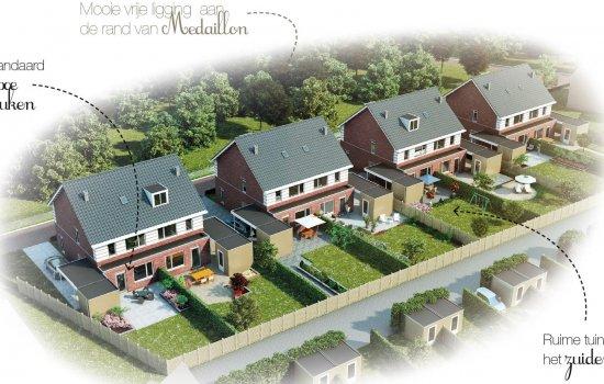 Nieuwbouwproject Medaillon te Hengelo