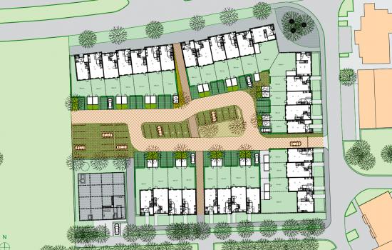 Nieuwbouwproject Heldenhof te Emmen