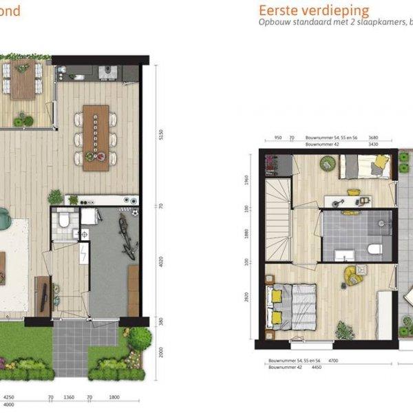 Nieuwbouwproject De Wij Welgelegen 5 Herenhuizen, 3 Patiowoningen en 1 Hoekvilla in Utrecht