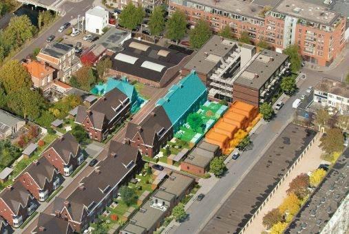 Nieuwbouwproject De Wij Welgelegen 5 Herenhuizen, 3 Patiowoningen en 1 Hoekvilla te Utrecht
