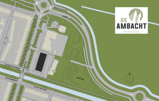 Nieuwbouwproject De Ambacht Stadshagen te Zwolle