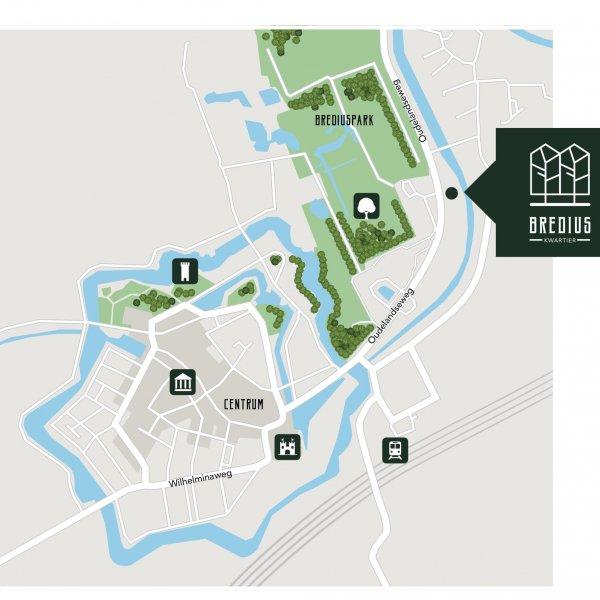 Nieuwbouwproject Bredius Kwartier in Woerden