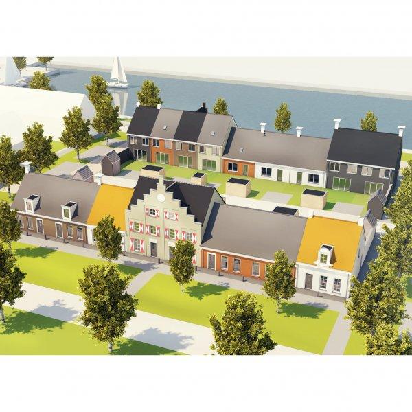 Nieuwbouwproject Havenkwartier fase 2 te Blauwestad